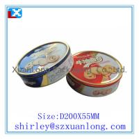 China Round Shape Tin Candy Container Wholesale on sale