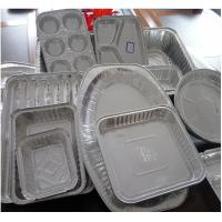 Quality Food Aluminium Foil Container Tray With Lids Aluminium Roasting Pan for sale