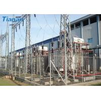 3 Phase 110kV Industrial Oil Immersed Power Transformer With Corrugated Steel Plate Tank