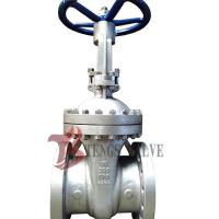 Buy Cast Stainless Steel Gate Valve A351 CF8 SS304 300LB With Bolted Bonnet Design at wholesale prices