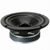 China 6.5-inch closed back specialized pro-audio mid-range speaker driver, 100W rated power on sale