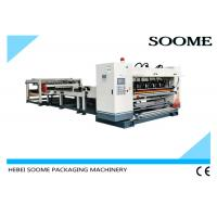 Quality 1600mm Corrugated Cardboard Production Line 2 Ply Single Facer For Making Carton for sale