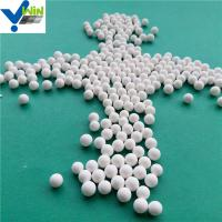 Quality Catalyst bed support inert alumina ceramic packing ball price per kg for sale