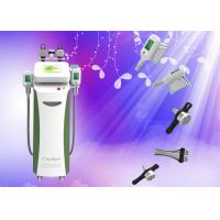 Quality Ultrasonic Vacuum RF Cryolipolysis Slimming Machine With RF 2MHZ for sale