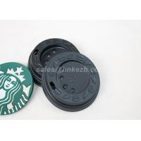 Quality Compostable / Biodegradable Paper Solo Cup Lids For Hot Coffee Drinking Cup for sale