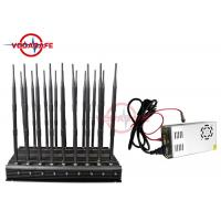 Buy cheap All In One Mobile Phone Signal Jammer , Full Band Cell Phone Jamming Device 25M from wholesalers