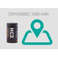Quality 1050 MAh 1mA Lithium Primary Battery , Lithium Manganese Dioxide Battery For GPS for sale