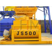 China JS500 with Two shaft concrete mixer excellent performance on sale