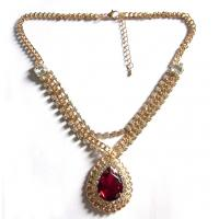 Quality Chinese Double Cord Knotted Pendant Necklaces for sale