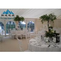 300 People Large Wedding Event Tents Fire Proof With Tables And Chairs