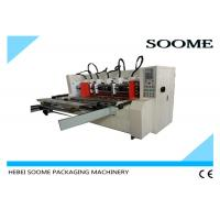 Quality Automatic Slitter Scorer machine For Carton Creasing / Electrical Thin Blade Slitting Machine for sale