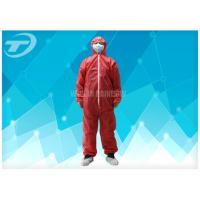 Quality Polypropylene Spunbond Disposable Coverall Suit With Hood Waterproof for sale