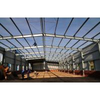 Quality Workshop Warehouse Prefabricated Steel Buildings Structure Design GB Standard for sale