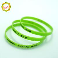 Customized Screen Printed Silicone Rubber Bands Colorful