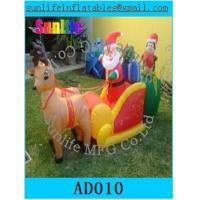 Quality Inflatable Christmas Decorations , Airblown Inflatable Christmas Tree For Kids for sale