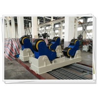 Quality CE ISO 100T SAR Welding Turning Roller Stationary Self Aligning Rotator PU Wheel for sale