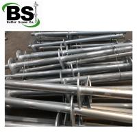 Quality Steel pipe piling with multiple twisted helix plates welded for sale