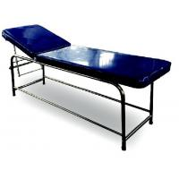 Buy cheap Stainless Steel Medical Examination Couch Blue Color Legs Fitted With PVC Stumps from wholesalers