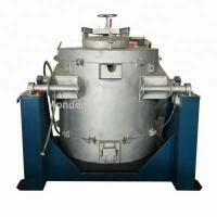 China Die Casting Metal Melting Furnaces With Riello Burner 500 KGS on sale