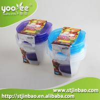 Set of 4 pcs Healthy Container Freezer Boxes Baby Food Storage Container