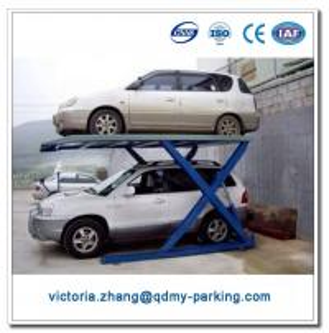 China Scissor Car Garage 2 Level Parking Lift Car Lift Parking Manufacturers on sale