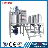 Quality New sales two way mixing vacuum homogenizer emulsifying mixer making machine for facial cream for sale