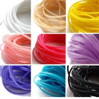 China Heat Resistant Silicone Rubber Cord High Elasticity High Strength With Long Lifespan on sale