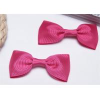 Quality High End Bow Tie Ribbon , Hair Elastic Bands Home Textile Purple for sale