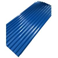 Quality 20 Gauge Color Corrugated Steel Sheet , Corrugated Galvanized Roofing Long Lifetime for sale