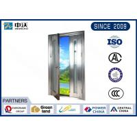 Quality Fire Resistant 1.5h Fire Rated Hollow Metal Doors For Mechanical And Electrical Room for sale
