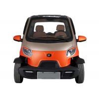 Quality 2 Passenger Mini Electric Car 55km/H Maximum Speed Air Conditioner 4 Wheels for sale
