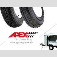 China APEX Special Trailer Tire, Car Trailer Tyre for 13, 14, 15 inch on sale