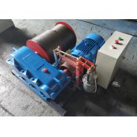 China Construction Electric Wire Rope Winch With 1 - 30 Ton Large Rope Capacity on sale