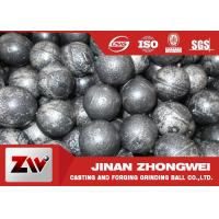 Quality High Wear Resistant Steel Balls For Ball Mill With Low Broken Rate for sale