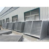 Quality Removable HDG Temporary Fence Rental Galvanized Metal Fencing Panels for sale