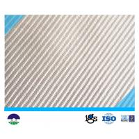 China Flat Loom PET Anticorrosion Woven Geotextile 460G Separation Fabric on sale