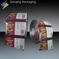 Quality Flexible Packaging Roll Film For Chocolate     Food Grade Plastic Packaging Printing Roll Film for sale