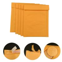 Quality #000 4x8 Secure self-seal Golden Yellow Kraft Bubble Padded Mailers for shipping mailing supplies for sale
