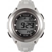 Quality 100M Water Resistant Gents Digital Watches , Silicone Band Sport WristWatch for sale