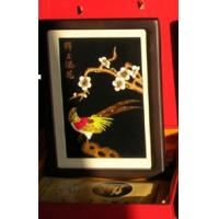 China Straw painting, wheat straw picture distinctive folk handicraft in China, pure handwork craft,China's folk art, on sale