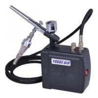 Quality AC100~240V 0.6A 7cc Professional Airbrush Makeup tattoo Kit - with dual action airbr for sale