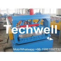Quality Manual, Hydraulic Decoiler Clip Lock Profile Standing Seam Roof Panel Roll Forming Machine for sale