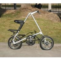 Buy cheap Foldable Bike Alloy Wheels Belt Drive Bicycle 100KG Maximum Rider Weight Durable from wholesalers