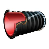 Quality Dredge Slurry Suction Hose With Steel Ring For Sand Mud Mining Flood Use for sale