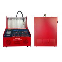 China Electronic Fuel Injector Tester And Cleaner For 6 Cylinder Vehicle AC220V on sale