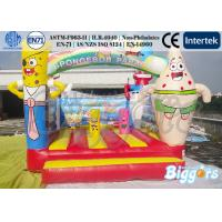 China SpongeBob Commercial Inflatable Bouncers Indoor Inflatable Bounce House Inflatable Children Games on sale