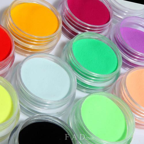 3D Nail Art PET Glitter Powder Decoration With Hexagon / Star Shape of ...