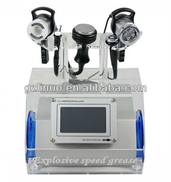 HOT SALE!!! LN-1602 5 in 1 RF Vacuum Cavitation Slimming Machine