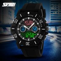 China Imitation Branded Top Ten Sport Analog Digital Wrist Watch With Dual Time Display Function on sale