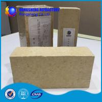 Quality Insulating Silica Fire Brick For Glass Kiln , Acid Resistance Refractory Fire Bricks for sale